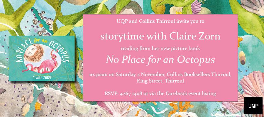 Storytime invitation